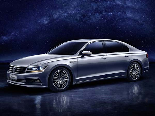 volkswagen phideon revealed