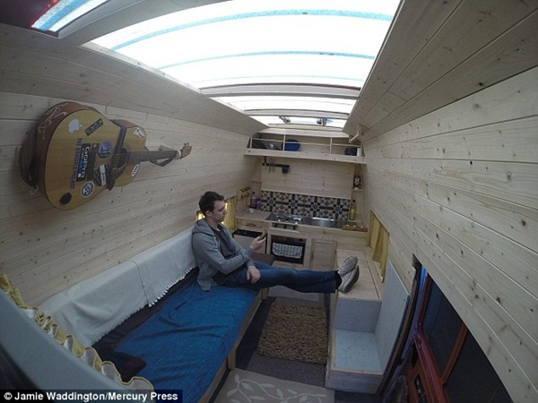 Former Soldier Transforms Old Van Into His New House; But Why?