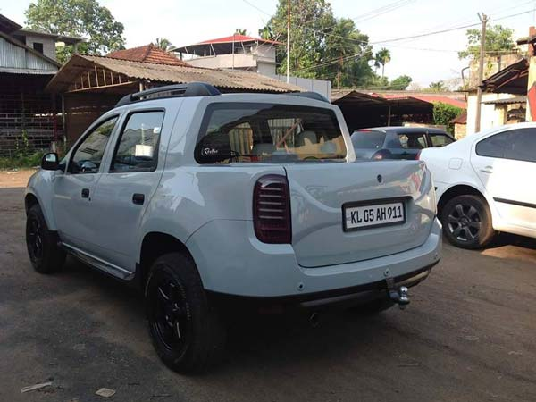 kerala renault duster modified pickup drivespark. Black Bedroom Furniture Sets. Home Design Ideas