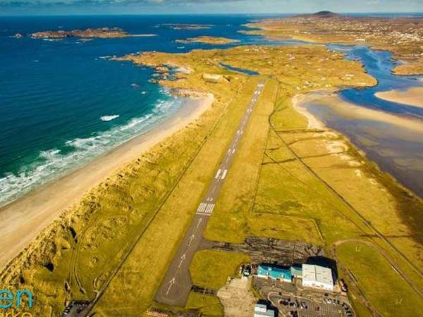 7. Donegal Airport, Ireland