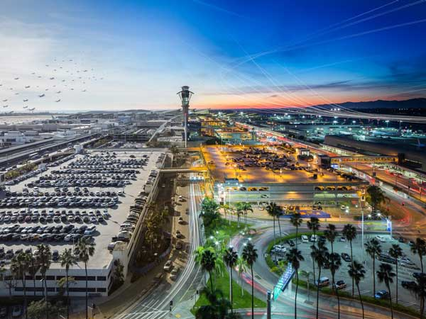 9. Los Angeles Airport, USA