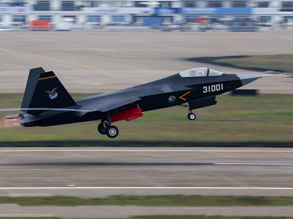 Chinese Menace 1 - Shenyang J-31