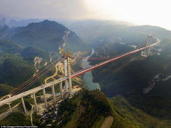 3. Qingshui River Bridge