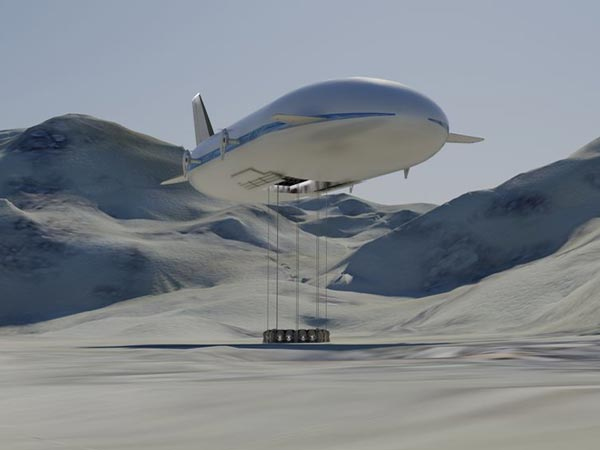 10. The Eye In The Sky - Aeroscraft Dirigible Airship