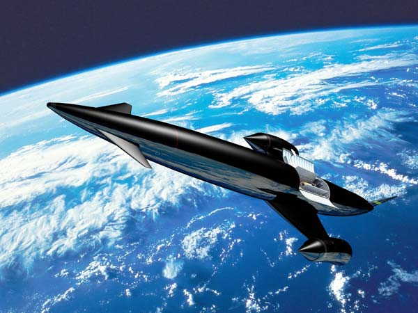 2. Skylon Surface-To-Orbit Plane - Take Off And Go To Space