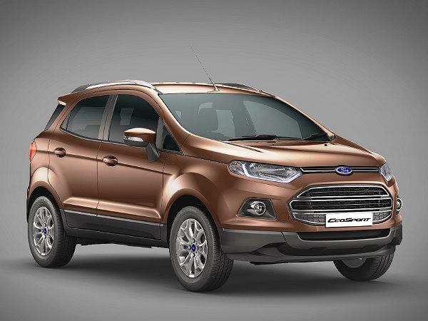 Ford Ecosport Facelift Details