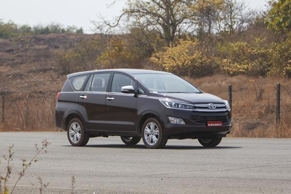 Toyota Innova Crysta Automatic Test Drive Review