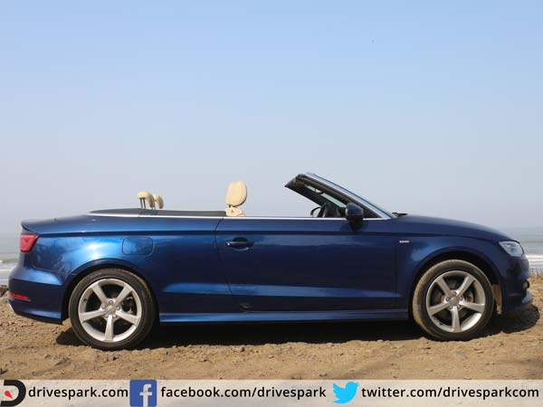 audi a3 cabriolet review side profile