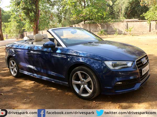 audi a3 cabriolet review front three quarter