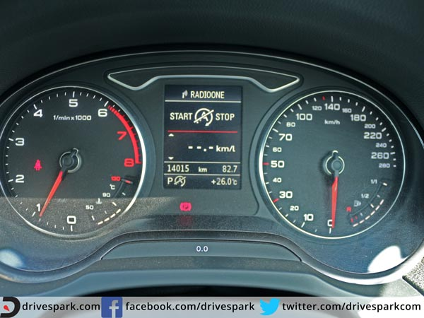 audi a3 cabriolet review instrument cluster
