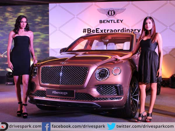 bentley bentayga suv launched in india; priced at rs. 3.85 crore