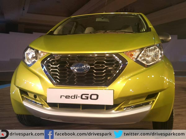 datsun redi go bookings