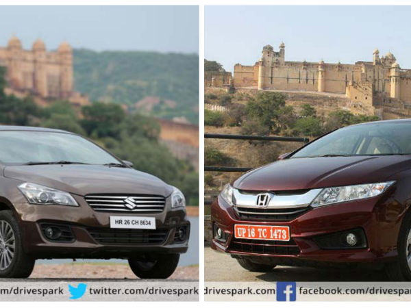 Comparison Honda City Automatic Vs Maruti Suzuki Ciaz Automatic