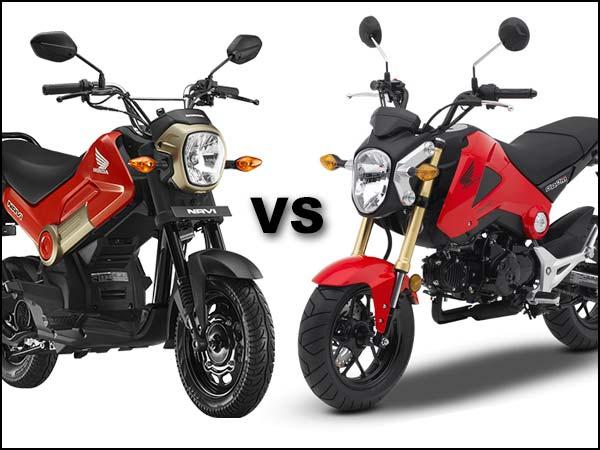 Honda Grom Price >> Honda Navi vs Honda Grom Comparison: Why Didn't The Grom Come To India? - DriveSpark News