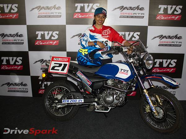 tvs-racing-first-female-rider-shreya-iyer