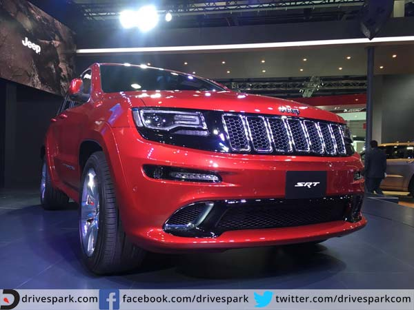 Upcoming Cars In India: Jeep Grand Cherokee SRT