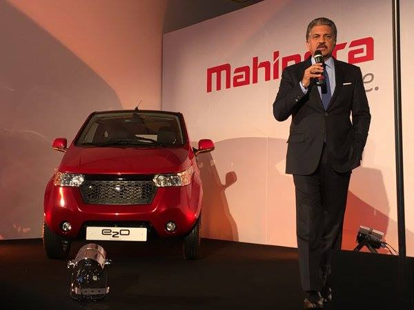 mahindra e2o uk launch