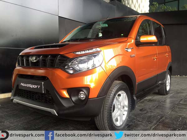 mahindra nuvosport interior and exterior images