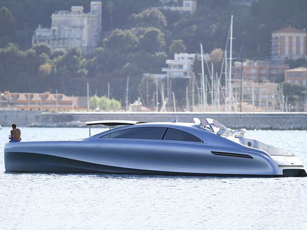 Mercedes Benz: First Motor Boat Named The Arrow 460 Granturismo