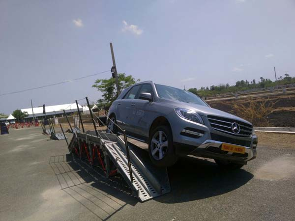 mercedes benz india luxedrive