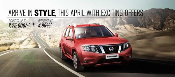 nissan terrano offer