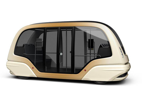 singapore driverless pods