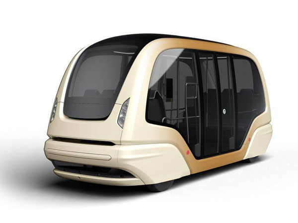 singapore driverless pods front
