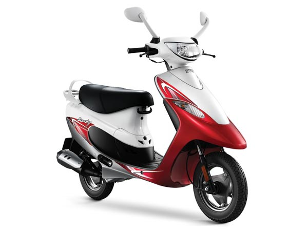 tvs scooty pep plus launched