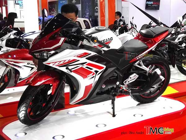 Yamaha r3 cloned by chinese company gets 350cc engine for Yamaha motorcycles made in china