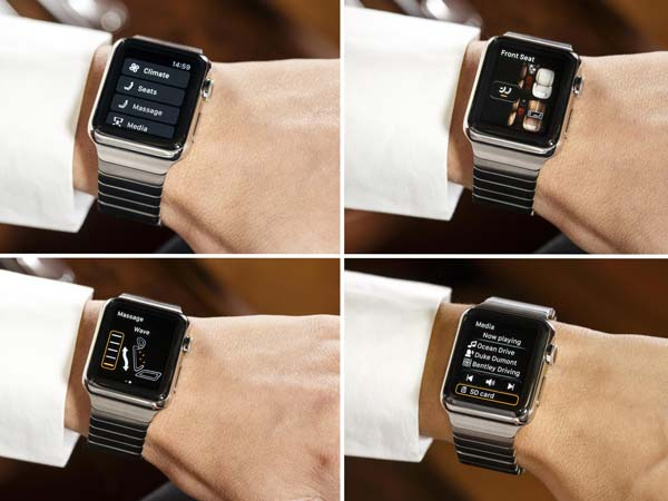 bentayga apple watch