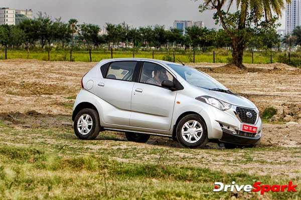 datsun redigo review ground clearance
