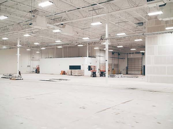 google self-driving car facility