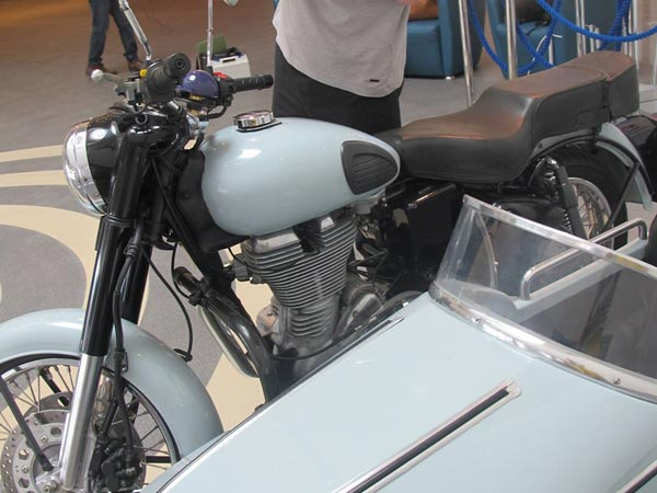 Royal Enfield: Bullet 500 Used In Harry Potter Displayed In Liverpool Museum