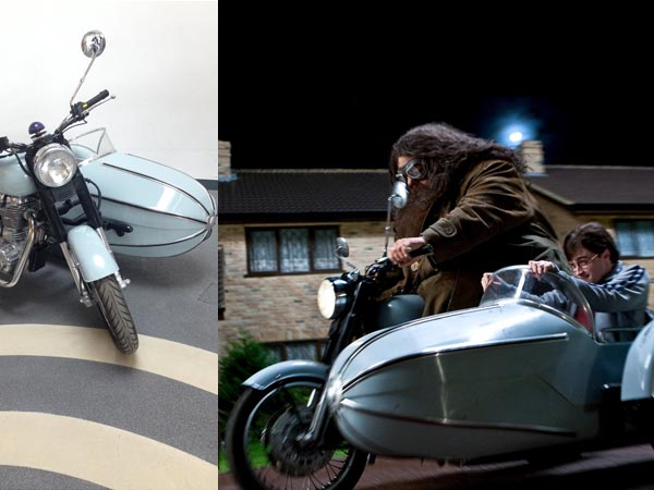 Royal Enfield: Bullet 500 Used In Harry Potter Displayed ...