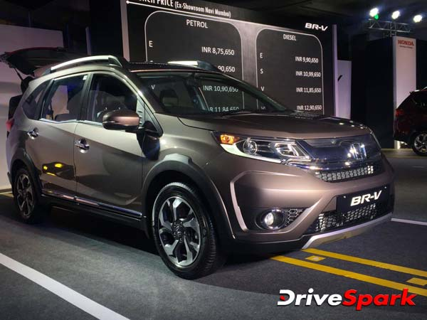 Honda BR-V: Bookings Cross 4000; Deliveries Soon