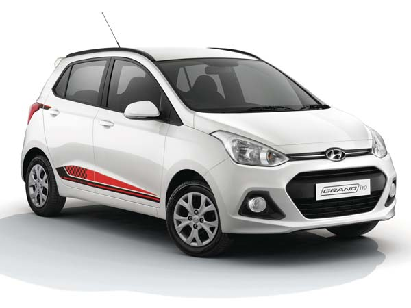 hyundai grand i10 20th anniversary edition