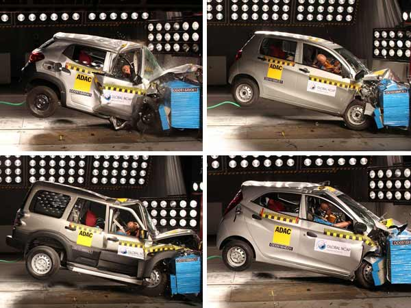 Zero Star Rating For Indian Cars In Crash Test: Global NCAP