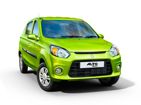 new alto 800 front profile
