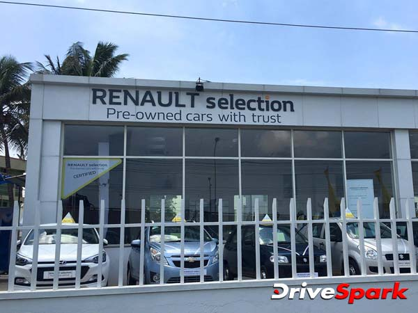 renault selection bangalore