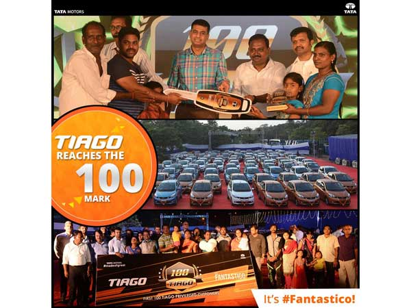 tata tiago 100 customers