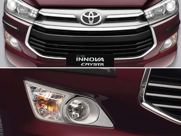 New Toyota Innova Crysta Accessories List Drivespark News