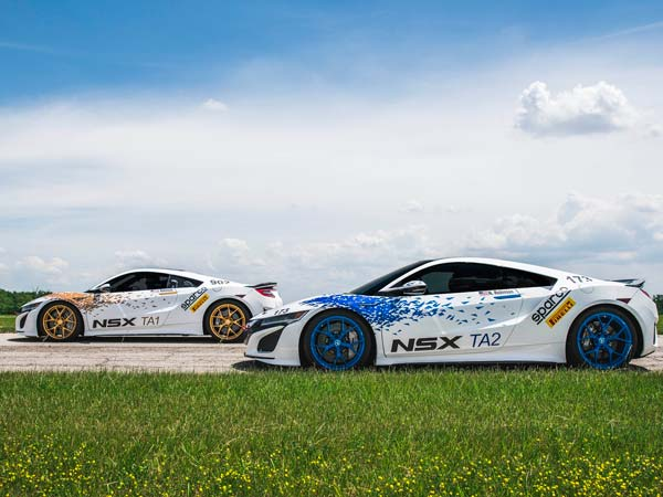 acura nsx to race at pikes peak hill climb
