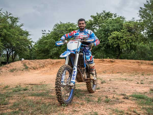 aravind kp to be part of 2017 dakar rally