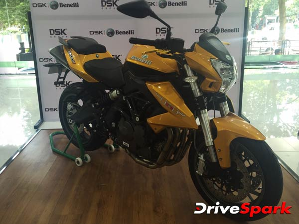 benelli tnt 600i abs launched in india