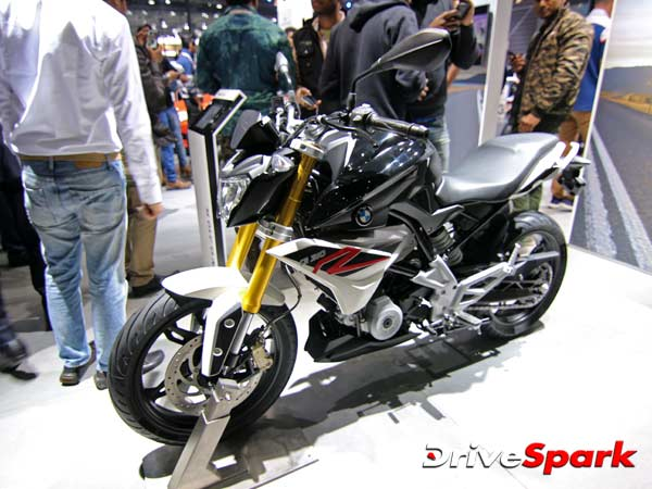 bmw g310r at auto expo