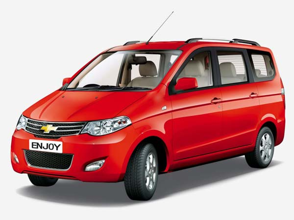 General Motors Likely To Discontinue Chevrolet Enjoy In India
