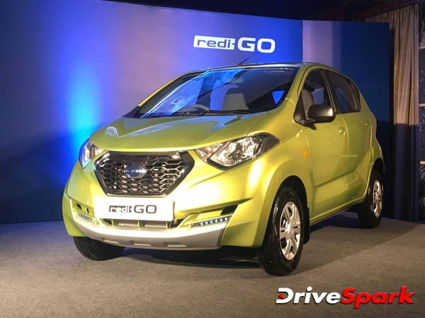 Datsun redi-GO Launched In Bangalore; Prices Start At Rs ...