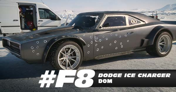 fast and furious 8 vehicles dodge ice charger dom