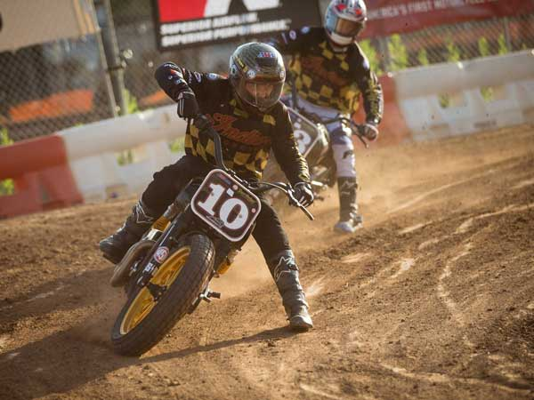 indian motorcycle flat track