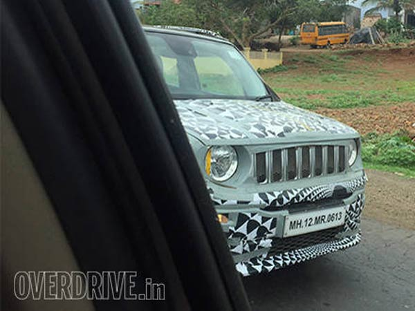 jeep renegade india testing